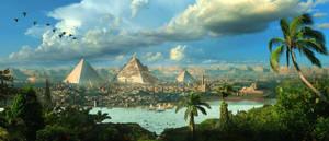 Egypt Matte By Scott Richard by rich35211