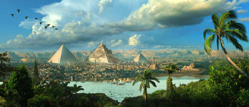 Egypt Matte By Scott Richard by rich35211