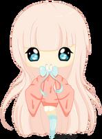Apple-chan by TinyTeaDrinker