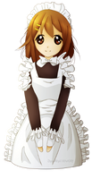 Yui Maid by TinyTeaDrinker