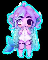 C: Chibi Girl by TinyTeaDrinker