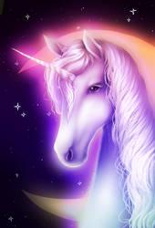 Magic Unicorn by TinyTeaDrinker