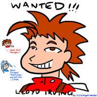 ToS - Lloyd's Wanted Poster by ojamajodoremidokkan