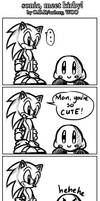 Sonic meets Kirby :D by ojamajodoremidokkan