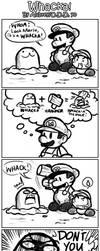 Paper Mario - DON'T WHACK by ojamajodoremidokkan