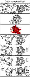 Sonic n Shadow - HAPPY V. DAY by ojamajodoremidokkan