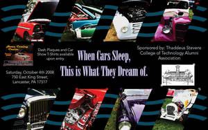 Car Show Poster by fartoolate