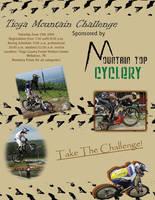 Mountain Bike Race Flyer by fartoolate