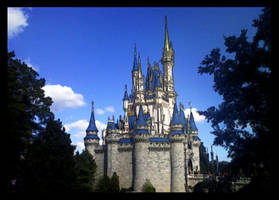 Cinderella's Castle Painting by fartoolate