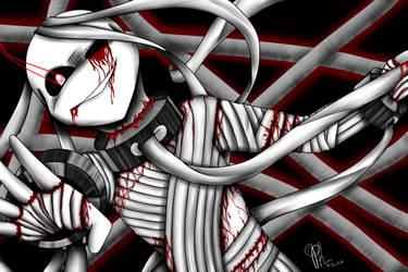 Shun the bandaged prisoner by Phirasine