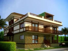 Villa 2 by MustafaSami