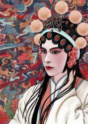 Chinese Opera by pavari