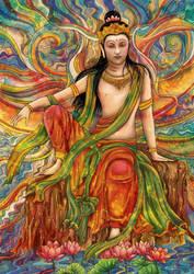 Avalokitesvara by pavari