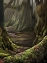 Forest Environment by pavari