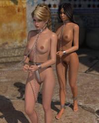 To the slave pens of Banu Hashim (Gor) by EmmaofGor