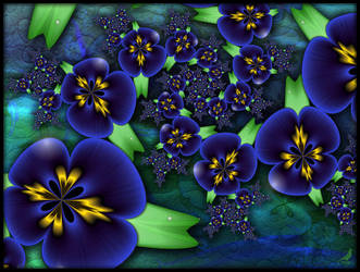 African violets by coby01