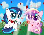 Love is in Bloom by SpellboundCanvas