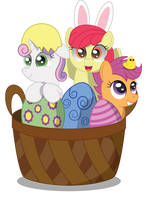 A Basket of Crusaders by SpellboundCanvas
