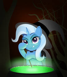The Great and Powerful Witch by SpellboundCanvas