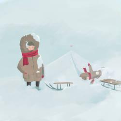 Sniego paleva by robertas