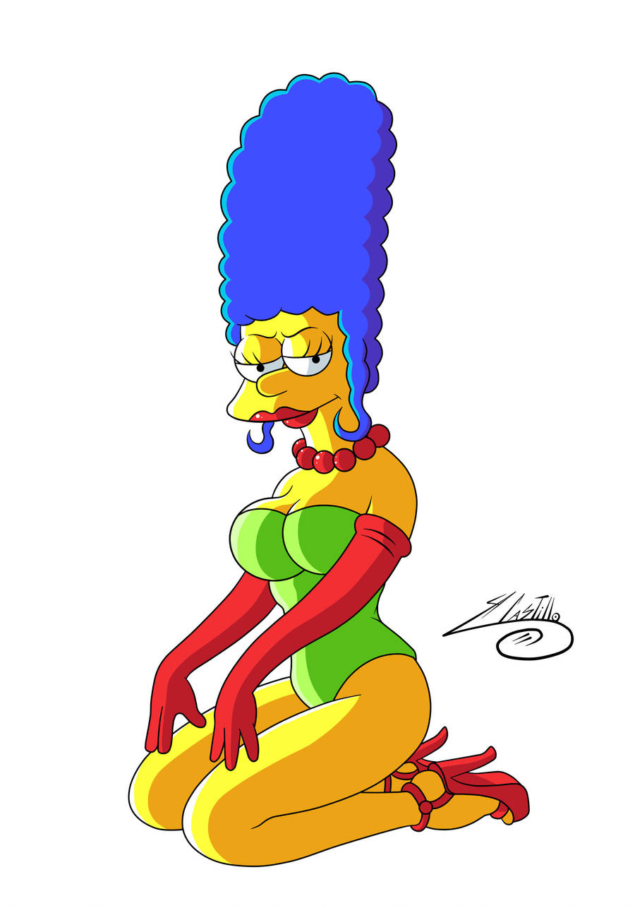 Sexy marge simpson 2 by swave18 on deviantart - Marge simpson et bart ...