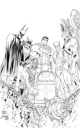 R.I.P Michael Turner Ink by SWAVE18