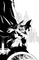 Batman Detective Comics #27 Inks by SWAVE18