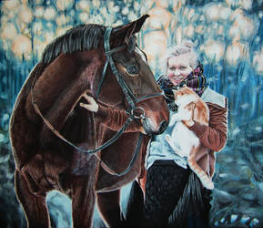 Anna in Wonderland by martak92