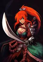 Katarina Wild Blades by oOCherry-chanOo