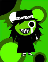 The Mighty Boosh - The Hitcher by Liquid-Genius
