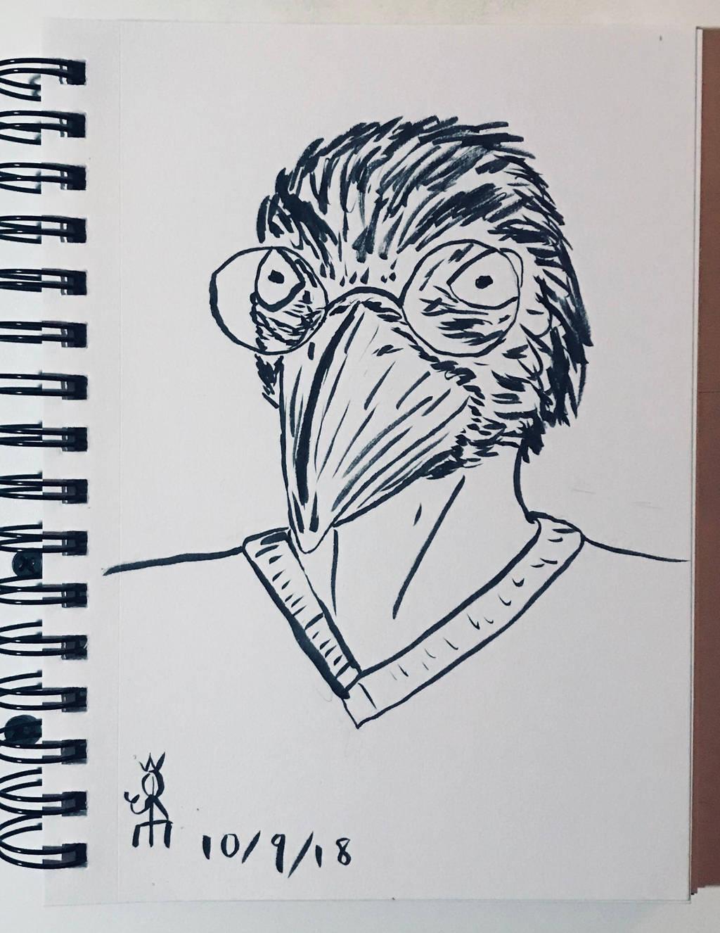 Self Portrait by JoeCrow9
