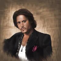 Johnny Depp by DoriAnna666