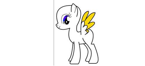 Ambrosia Sage Pony Progress by CrystalGemLarimar