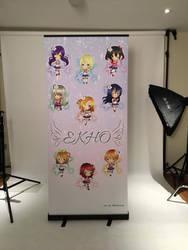 Ekho Idol's Love Live Banner by KoMelsu