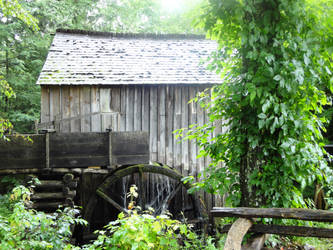 Little Mountain Water Wheel by hint-of-pink