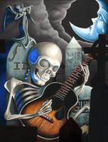 Music At Midnight III by SamGuinArt
