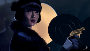 Miss Phryne Fisher by ACicco