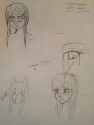 Doodling 2 by Snailkin
