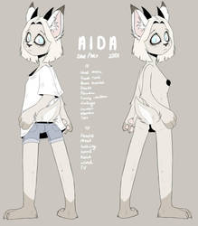 Aida [Fursona ref] by HunterDream14