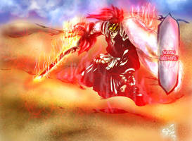 bleach renji abarai new and complete bankai (564) by gossj10