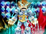 artix the paladin  battle gems style by gossj10