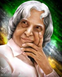 DR APJ Abdul Kalam by gossj10