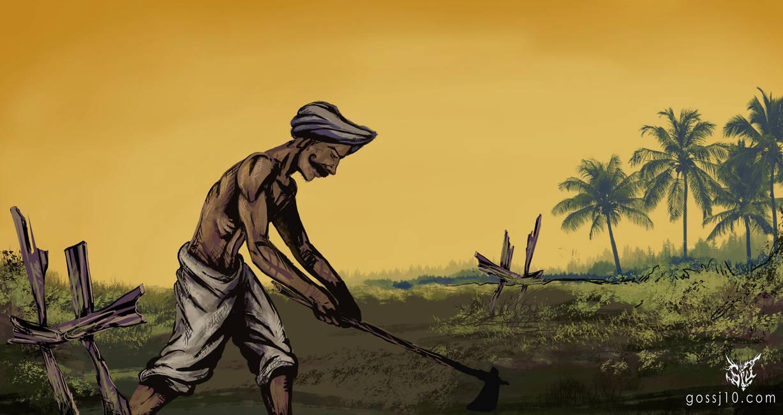 Indian Farmer by gossj10