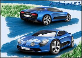 Alpine A110 Concept 2013 (Renault) by Antoine51
