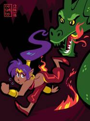 Shantae by curantodraws