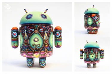 The Faberge Android by Simanion