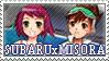 SubaruxMisora stamp 1 by GeoXSonia-Club