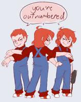 Outnumbered by Trans-Karamatsu