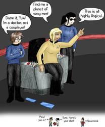 UB Cosplaying Star Trek by usedbooks