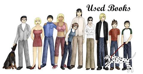 Cast of UB by usedbooks